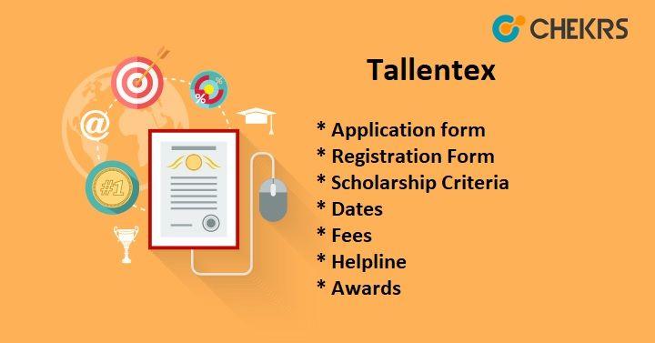 Tallentex 2019 Registration Form !! Registration form