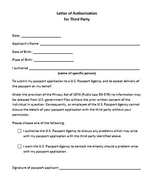 Click Download The Letter Authorization For Third Party Sample Child