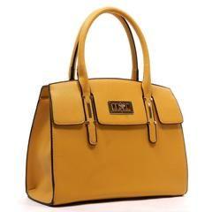 Vegan Buckle Handle Tote Bag (Multiple Colors Available) , Bags - Off Newbury, Off Newbury - 2