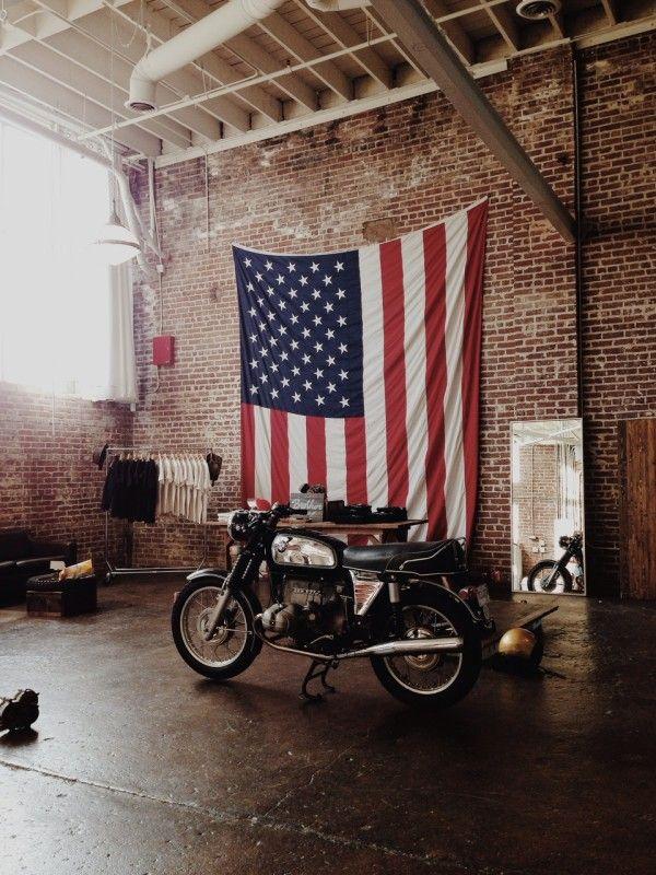 New Americana Biker Schwarz