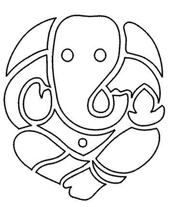 Ganesh 1 Ganesh Art Paintings Doodle Art Designs Ganesh Art