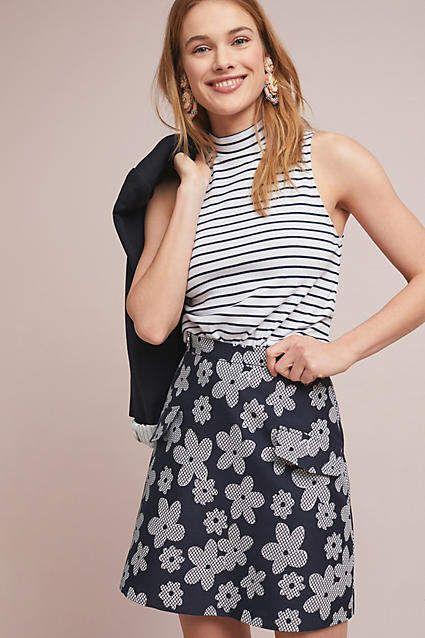 ef3191713 Eva Franco Mod Floral Mini Skirt in 2019 | Products