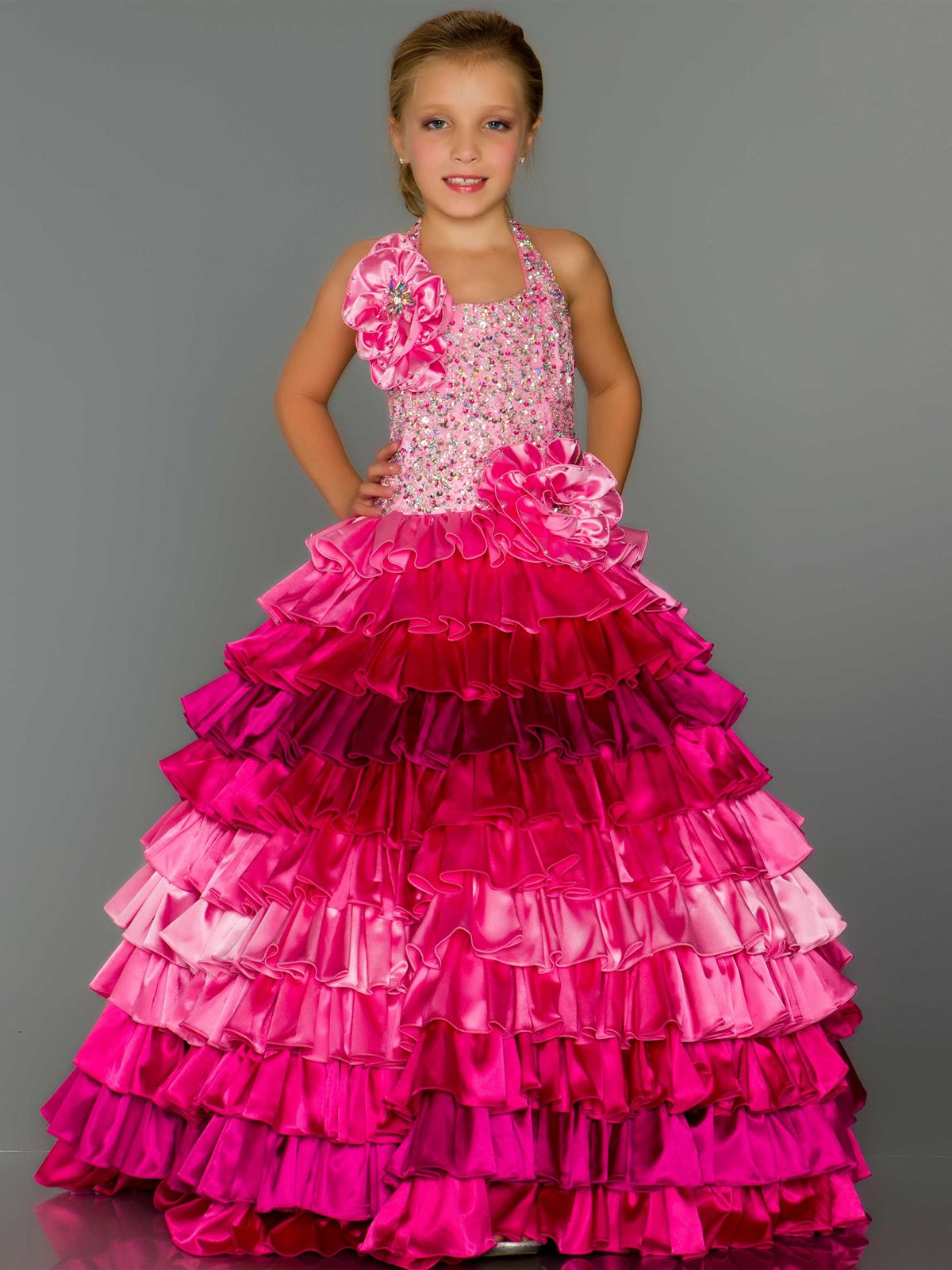Make her the star of the show in this fierceless Sugar Mac Duggal ...
