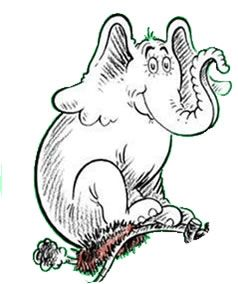 Horton The Fabulous Elephant Elephant February Ideas Horton