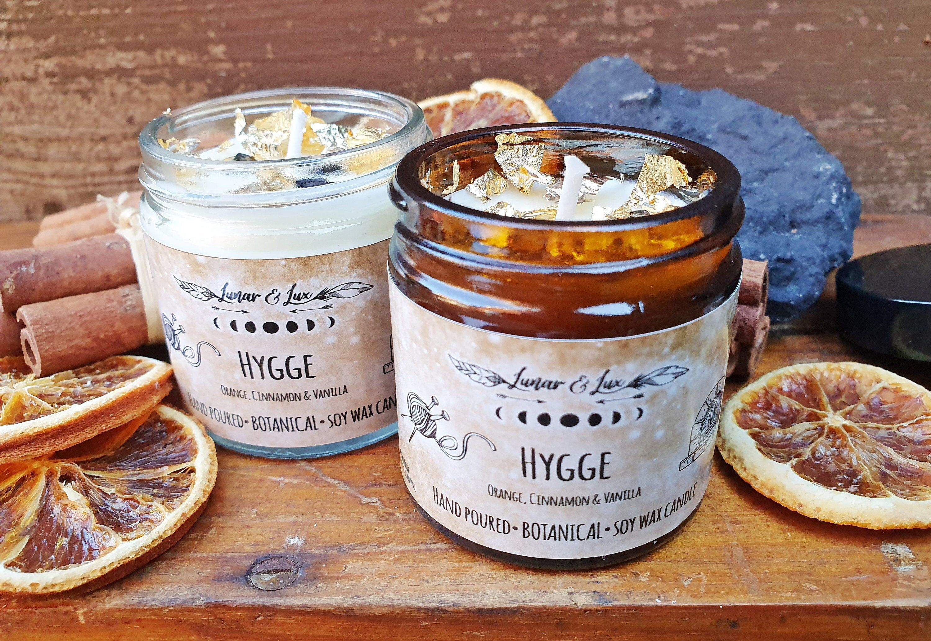 Hygge candle the perfect vegan gift click for more info