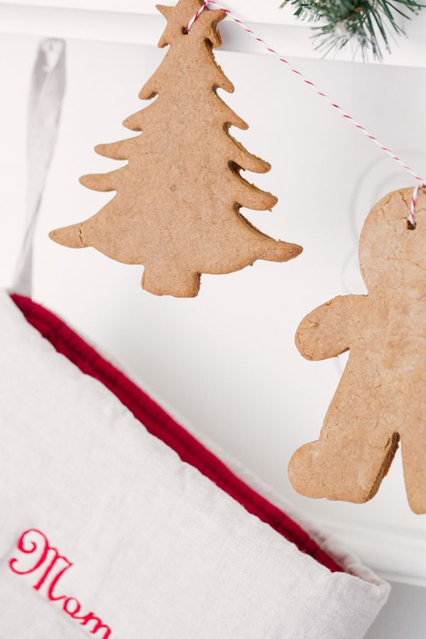 gingerbread garland and recipe