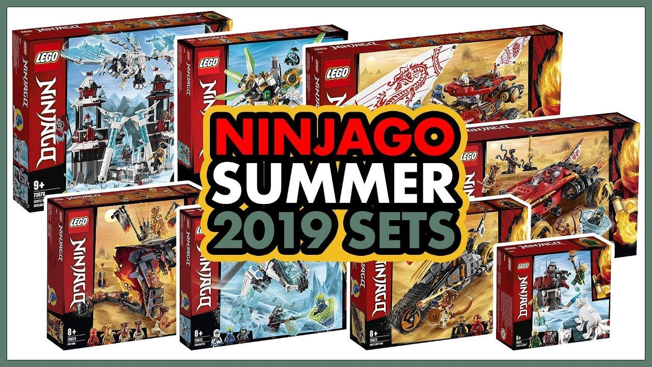 LEGO Ninjago 2019 Summer Sets Revealed! My thoughts and