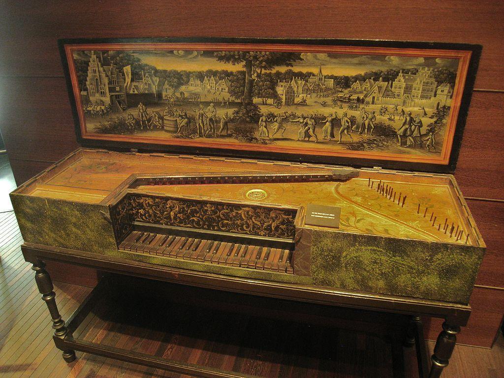 Virginal de Johannes Grouwel (vers 1580)  Bruxelles, Musée des Instruments de Musique