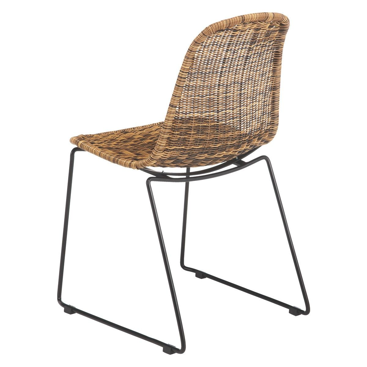 White Wicker Dining Chairs Uk Chair Legs Lowes Mickey Synthetic Rattan Buy Now At Habitat Als
