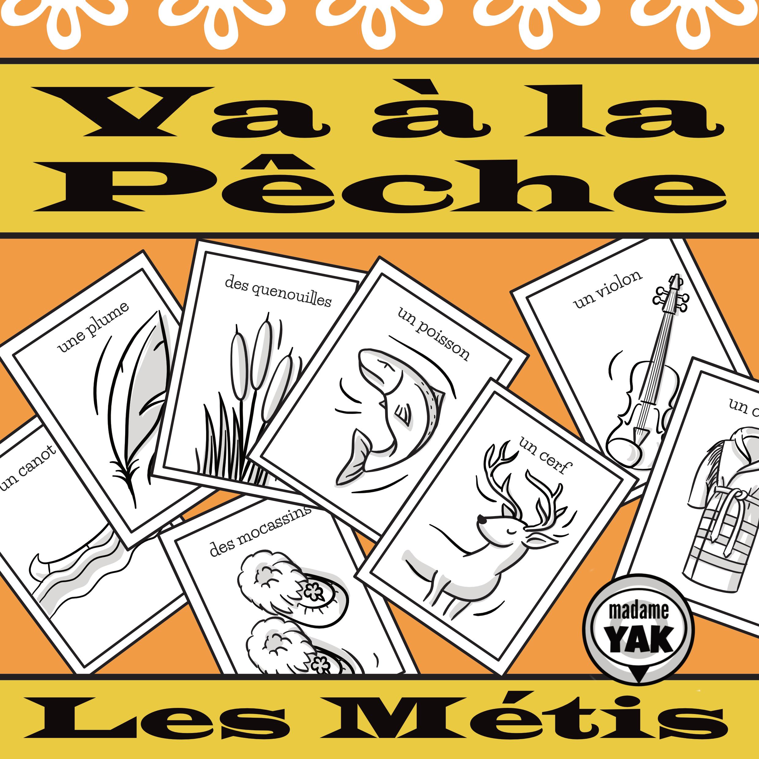 Le Vocabulaire Des Metis French Metis Vocabulary Games