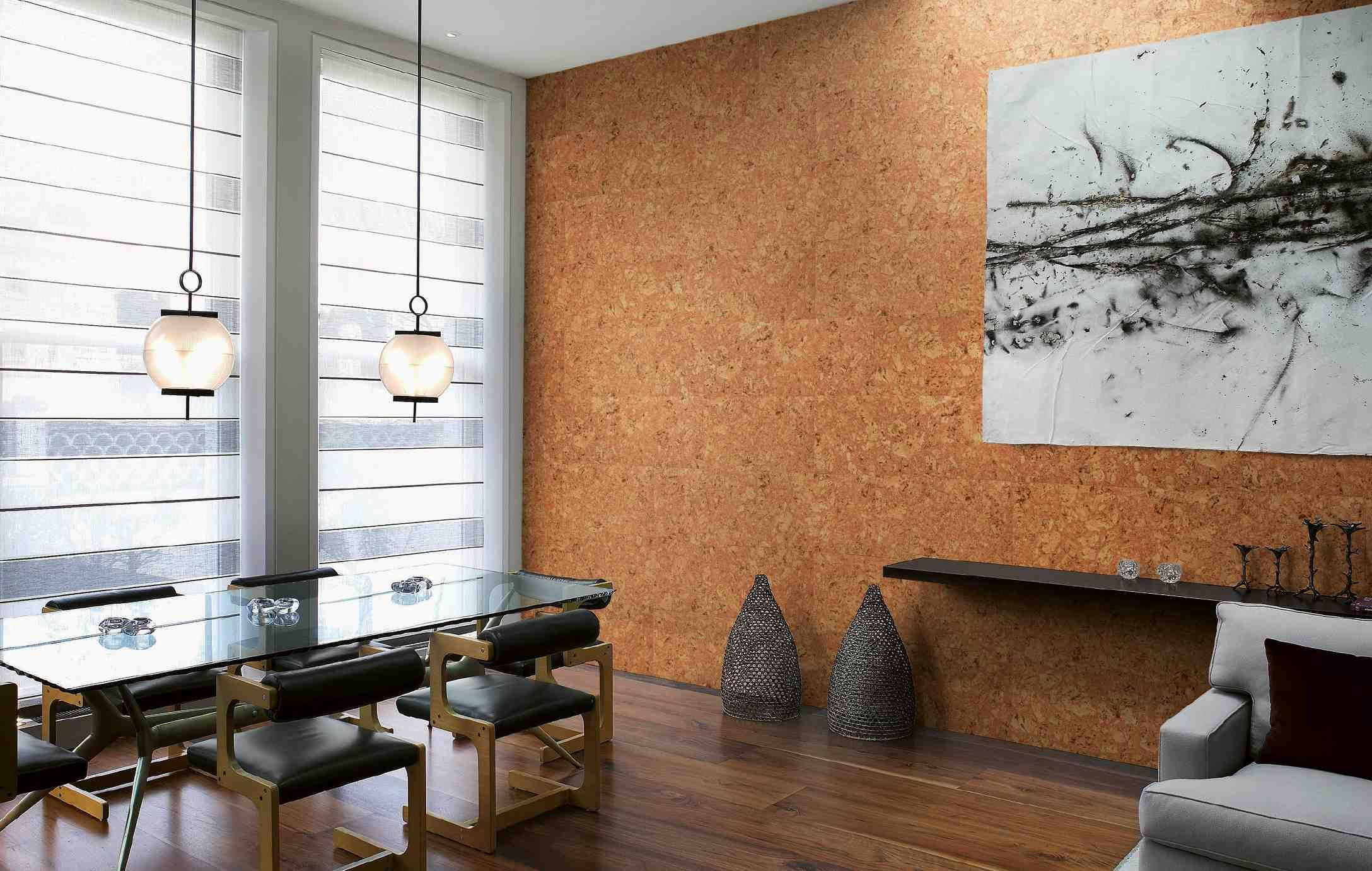 Korek Na Sciane Inspiracje Korkowe Dekoracje Scian Opinie I Zdjecia Home Decor Cork Wallpaper Furniture