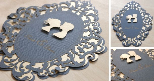 Laser Creative | Lasercut Wedding Stationery #wedding #lasercut #invitations