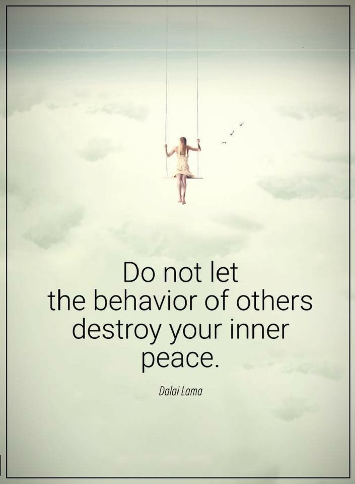 Quotes Never Allow What Others Do Disturb Your Peace Of Mind