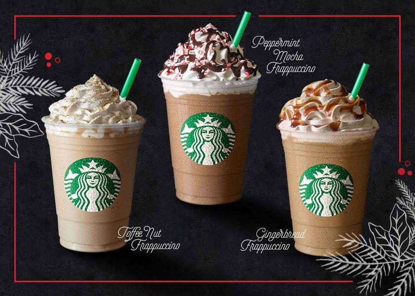 Starbucks Christmas Festive Drinks returns early Toffee