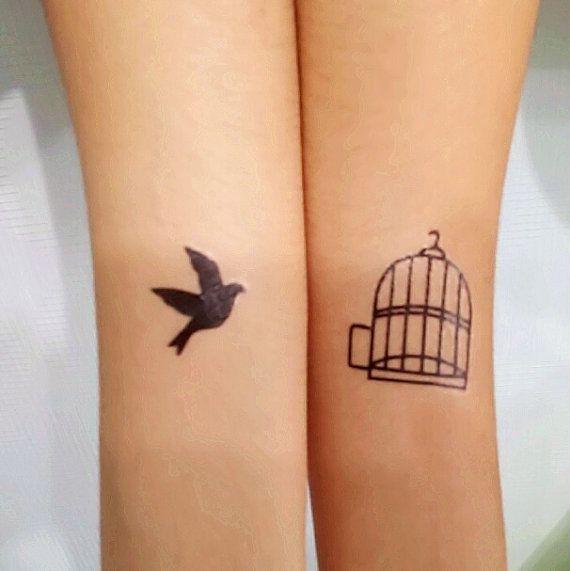 tatuajes pequenos jaula