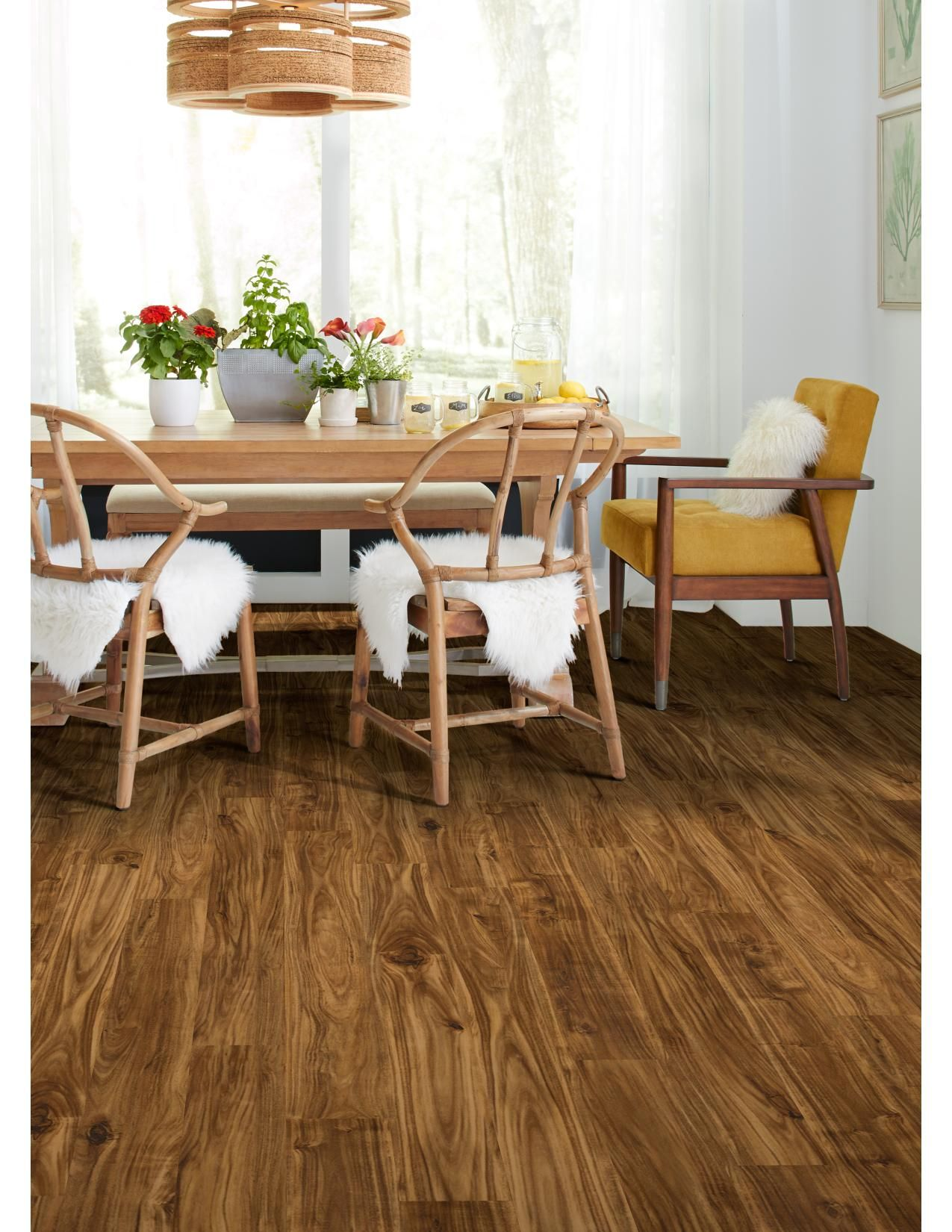 Downs H2O Shaw Tropical flooring from