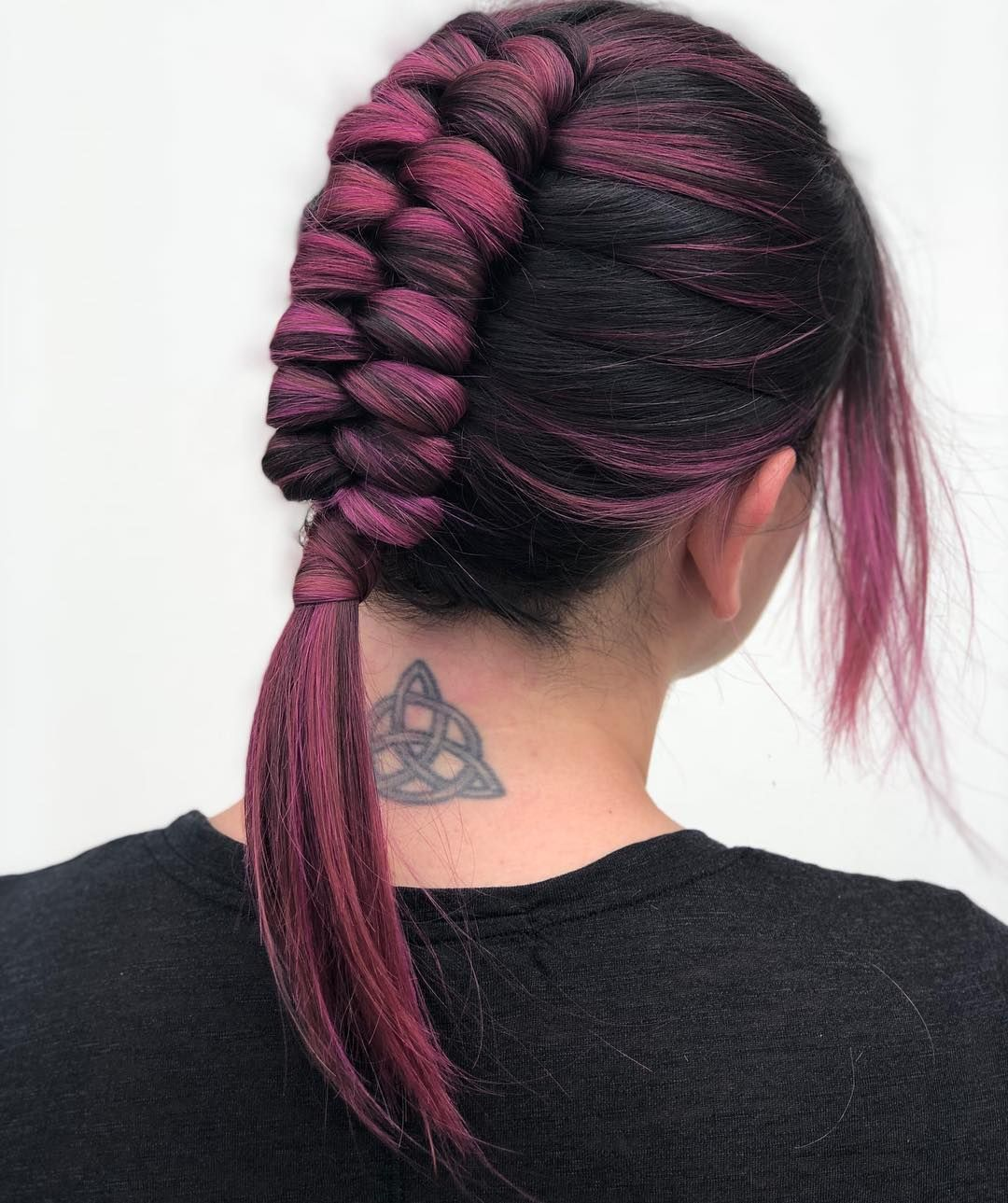Guys My Pink Muse Let Me Infinity Braid Her Hair I Can T The End Infini Infinitybraid Pinkhai In 2020 Braided Hairstyles Hair Styles Summer Hairstyles