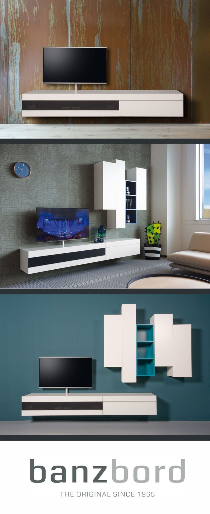 Banz Bord Cloud Zwevende Design Wandmeubels Met High End  # Meuble Tv Zorg