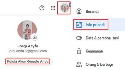 Cara Mengganti Foto Profil Di Google Meet Lewat Laptop Atau Pc