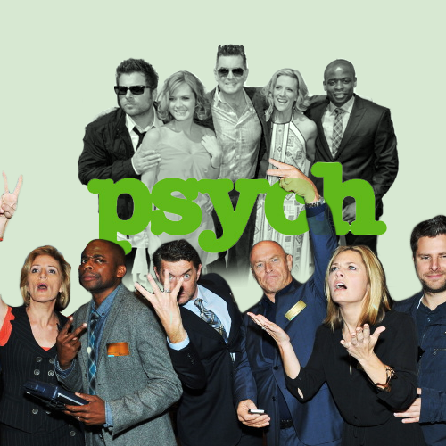 New to the Psych fandom? | Psych | Psych tv, Psych cast, Psych