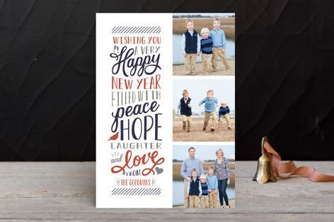 Elated New Year Photo Cards by Sarah Brown at minted.com