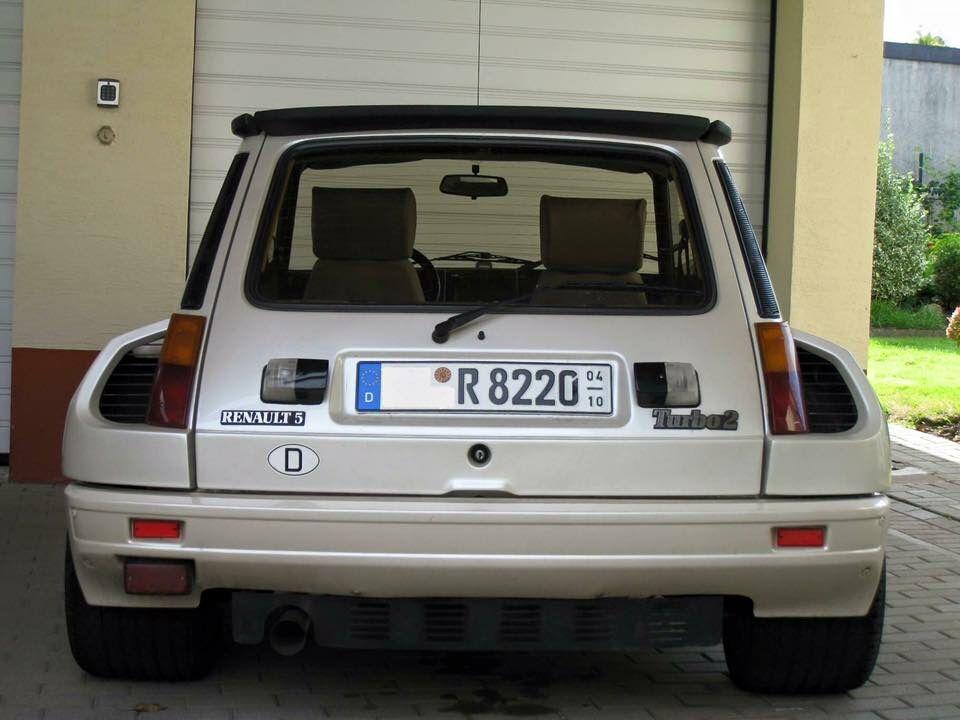 Renault 5 Turbo White Renault 5 Renault 5 Gt Turbo Renault