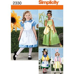 Toys 00069 Lil Alice In Wonderland Toddlers Costume California Costumes
