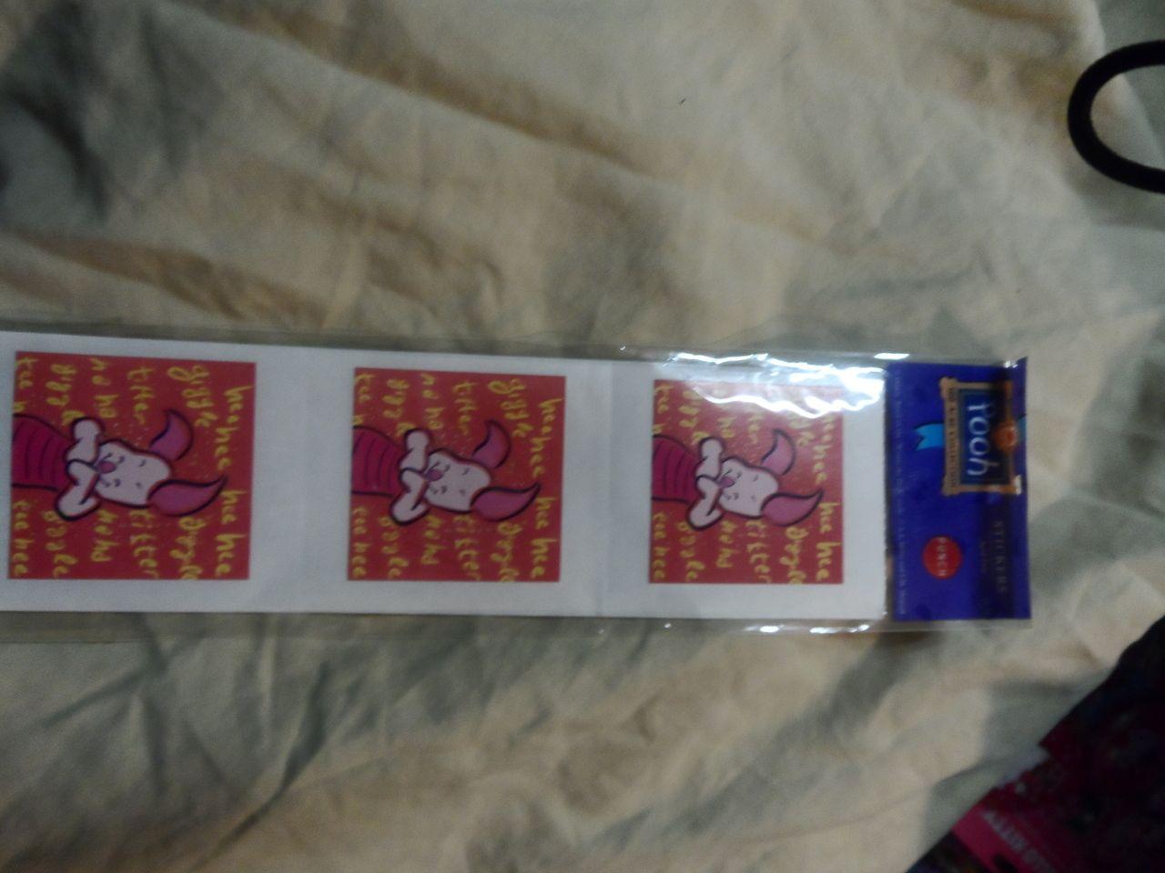 Seim's Awareness N Thrift - Piglet Stickers, $2.00 (http://www.seimsawarenessnthrift.com/piglet-stickers/)