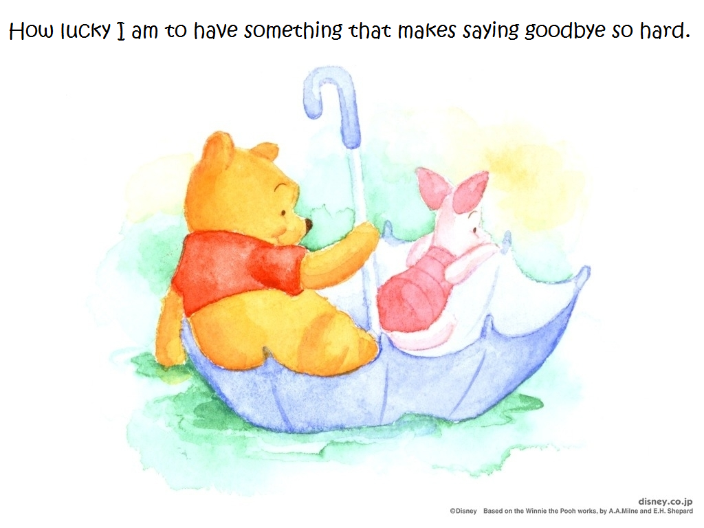 "Winnie The Pooh Quotes About Life Cute Winnie The Pooh Quotes  How Lucky Am I""  Winnie The Pooh"