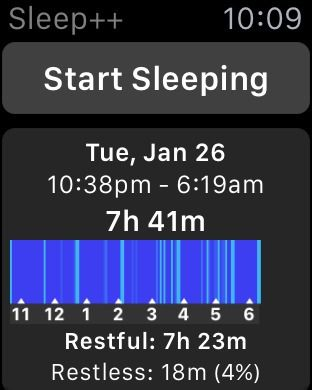 5 Best Sleep Tracker Apps for Apple Watch (2018 Edition
