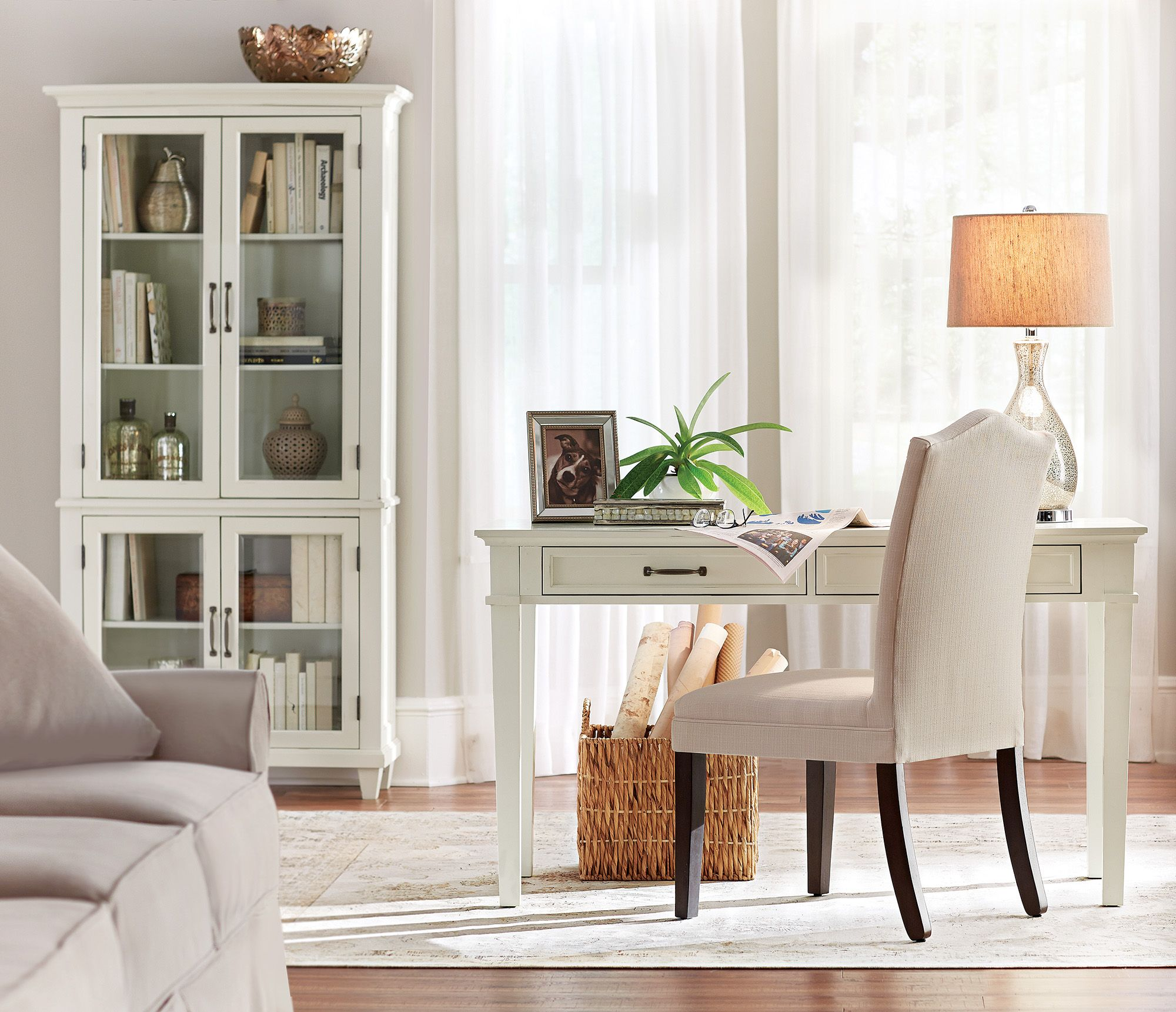Ivory Home Office Furniture Offers A Fresh Take On Working