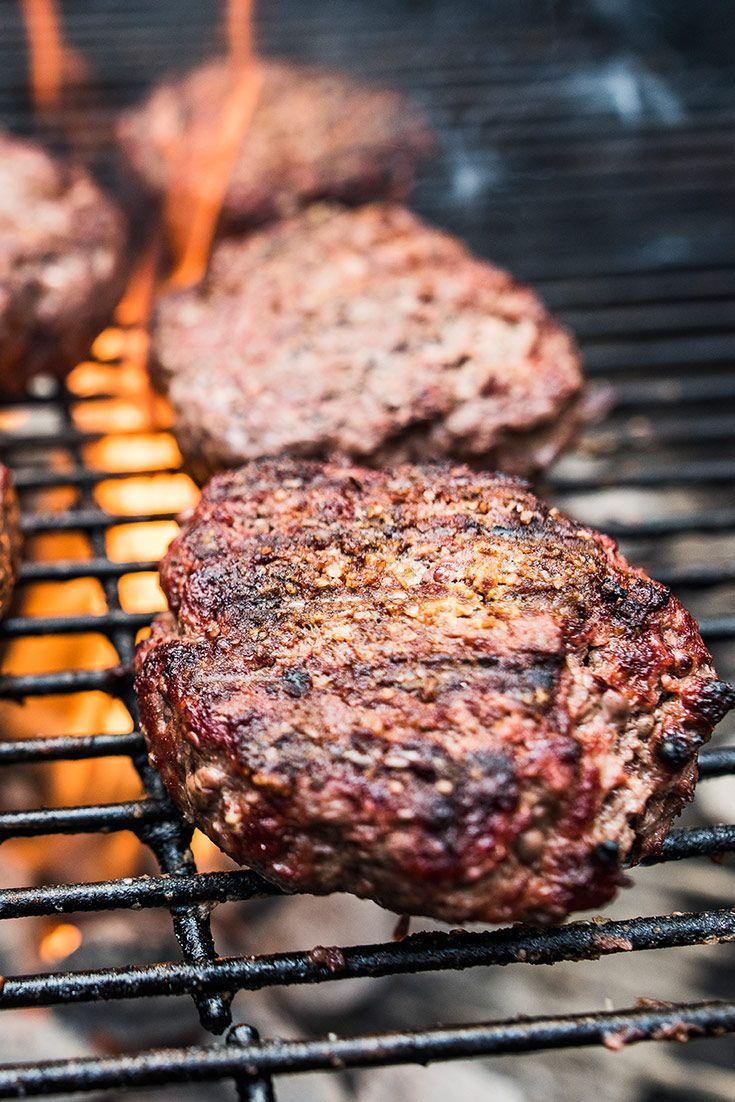 The Ultimate Beef Burger Patty Recipe Brisket Burger Homemade Burgers Recipes