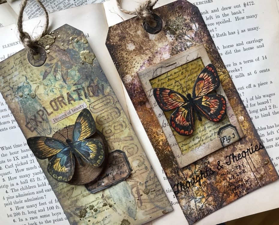 Tattered Nest Designs – Vintage Inspired Rubber Stamping - Cards and Tutorials #rubberstamping