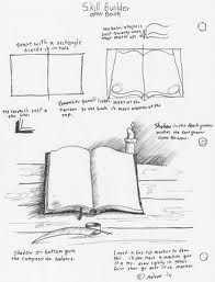 Open Book Drawing Easy : drawing, Books, Google, Search, Book,, Lesson, Plans,, Drawing