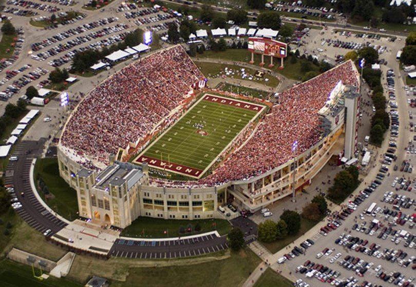 Indiana University Football And Stadium Indiana University Indiana University Bloomington Indiana Football
