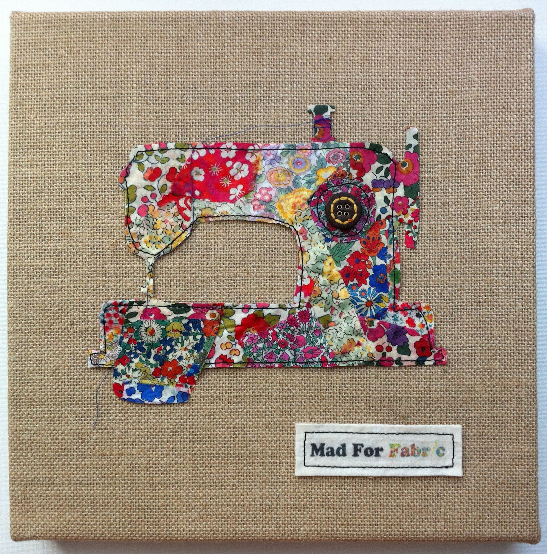 Creative Cards mini PATTERN Liberty Circles simple pieced quilt PATTERN