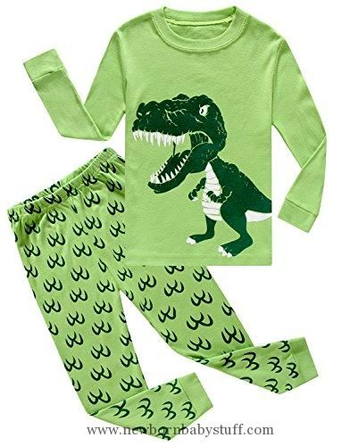 0c284f131f Baby Boy Clothes IF Pajamas Dinosaur Baby Boys Pajamas Sets 100% Cotton  Clothes Infant Kids Pants Sets 18-24 Months