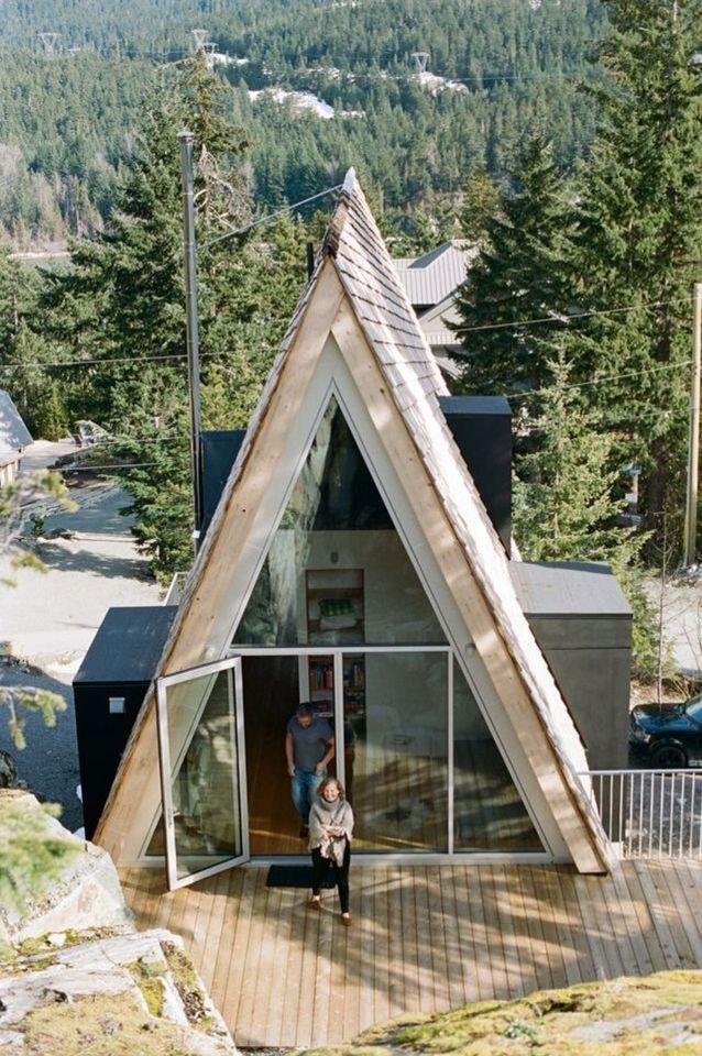 A Frame Cabin Contemporary House Plan 90603: Construction & Design Ideas