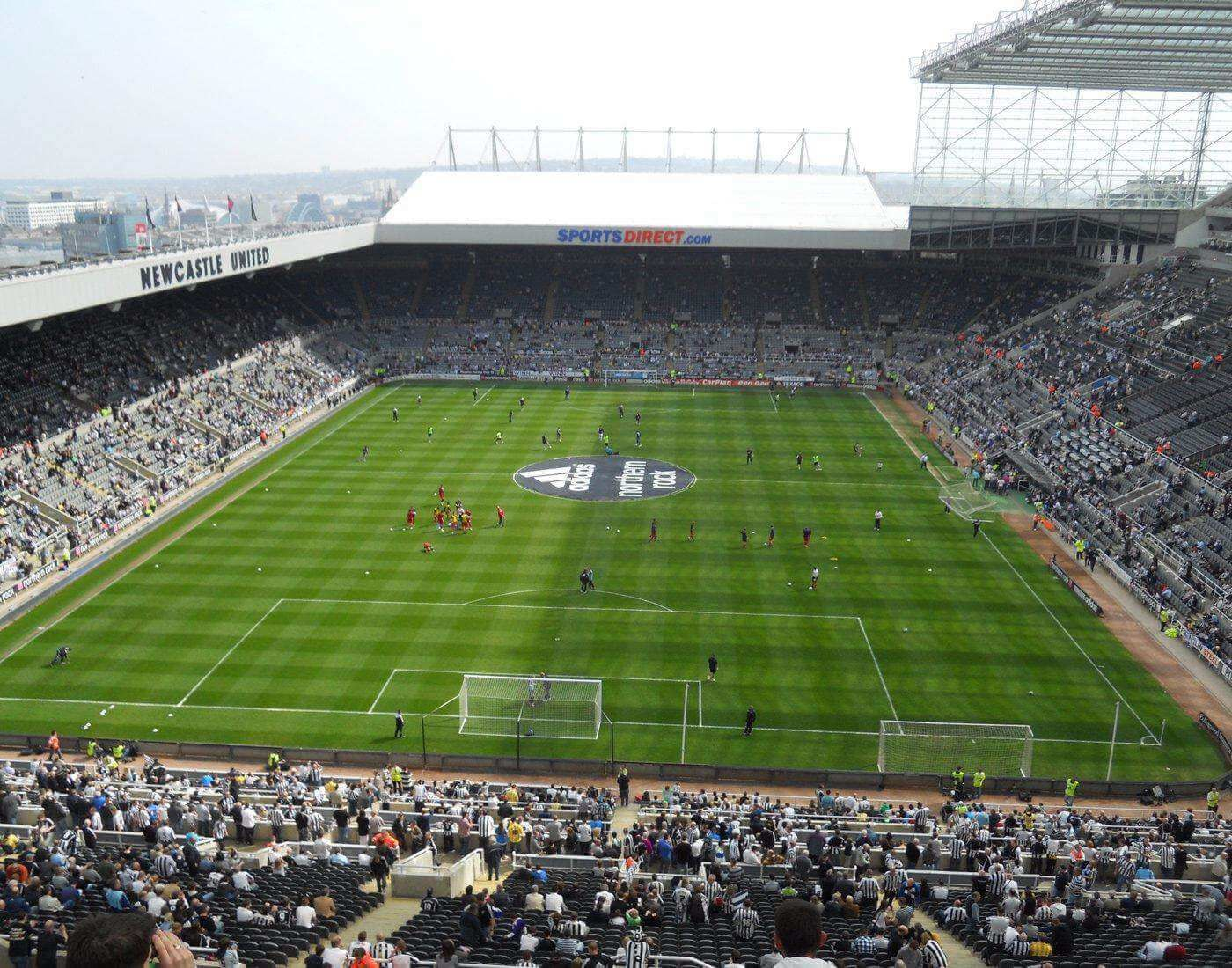 Three of 5 cheapest stadiums sit in the sunshine state. St. James Park: Newcastle, Soccer, Football, Rugby Union ...