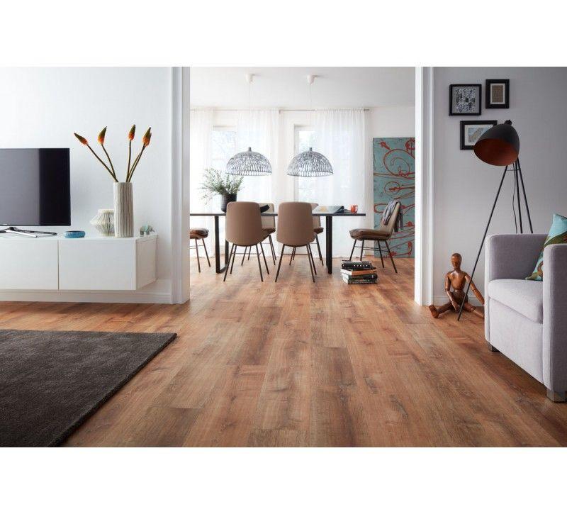Planeo Vinylboden Planeo Objekt Plus Golden Oak Natural - Fliesen oder vinyl im wohnzimmer
