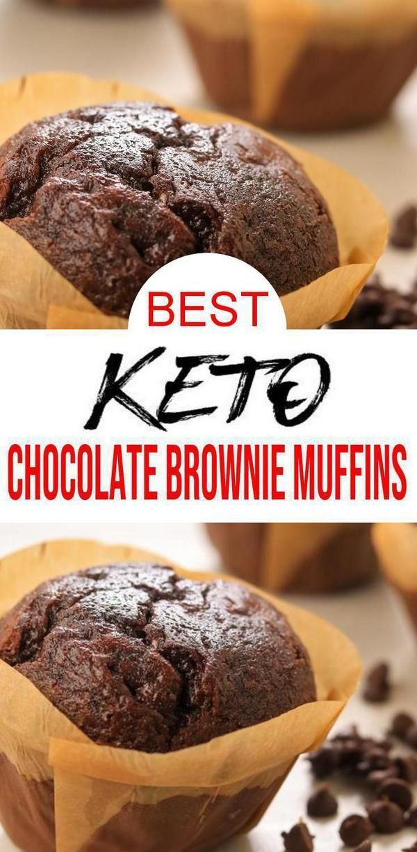 Photo of AMAZING Keto Brownies! Easy & quick keto brownies muffins. The best ketogenic di…