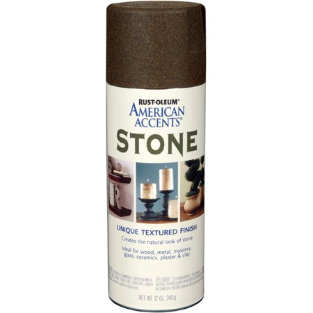 Rust Oleum American Accents Stone Spray Sienna Brown Stone Spray Paint Stone Texture Textured Spray Paint