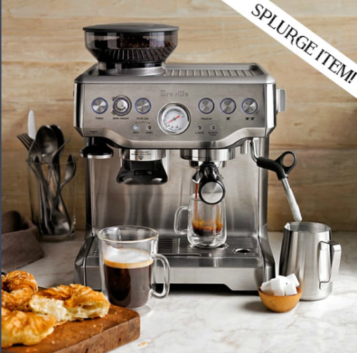 If you're a coffee lover, we have the perfect splurge item