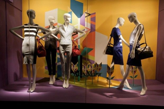 1a0dbed55e1d  Shapes of Spring  Window Display at Holt Renfrew.