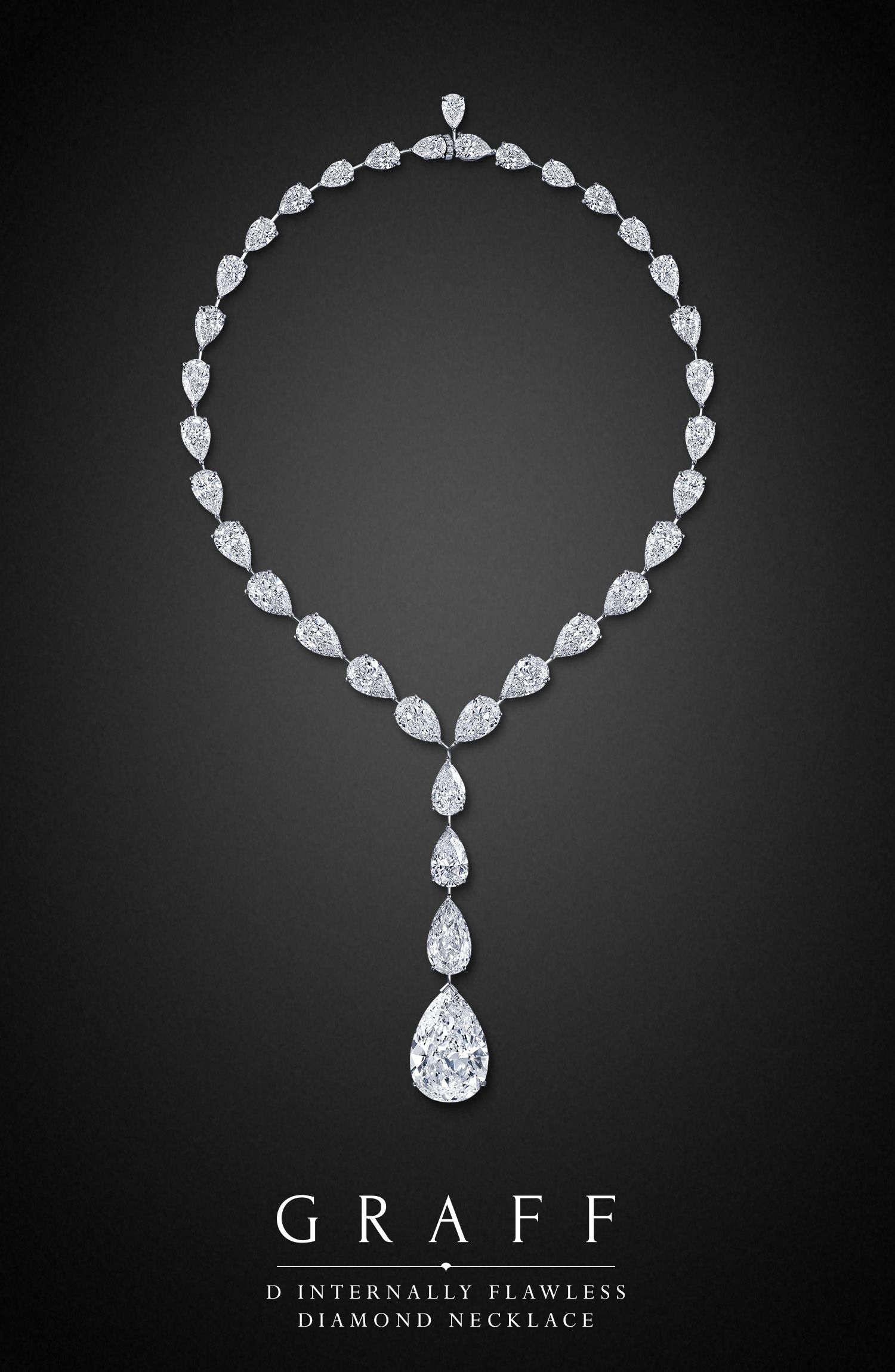 D Internally Flawless Diamond Necklace by Graff Diamonds With
