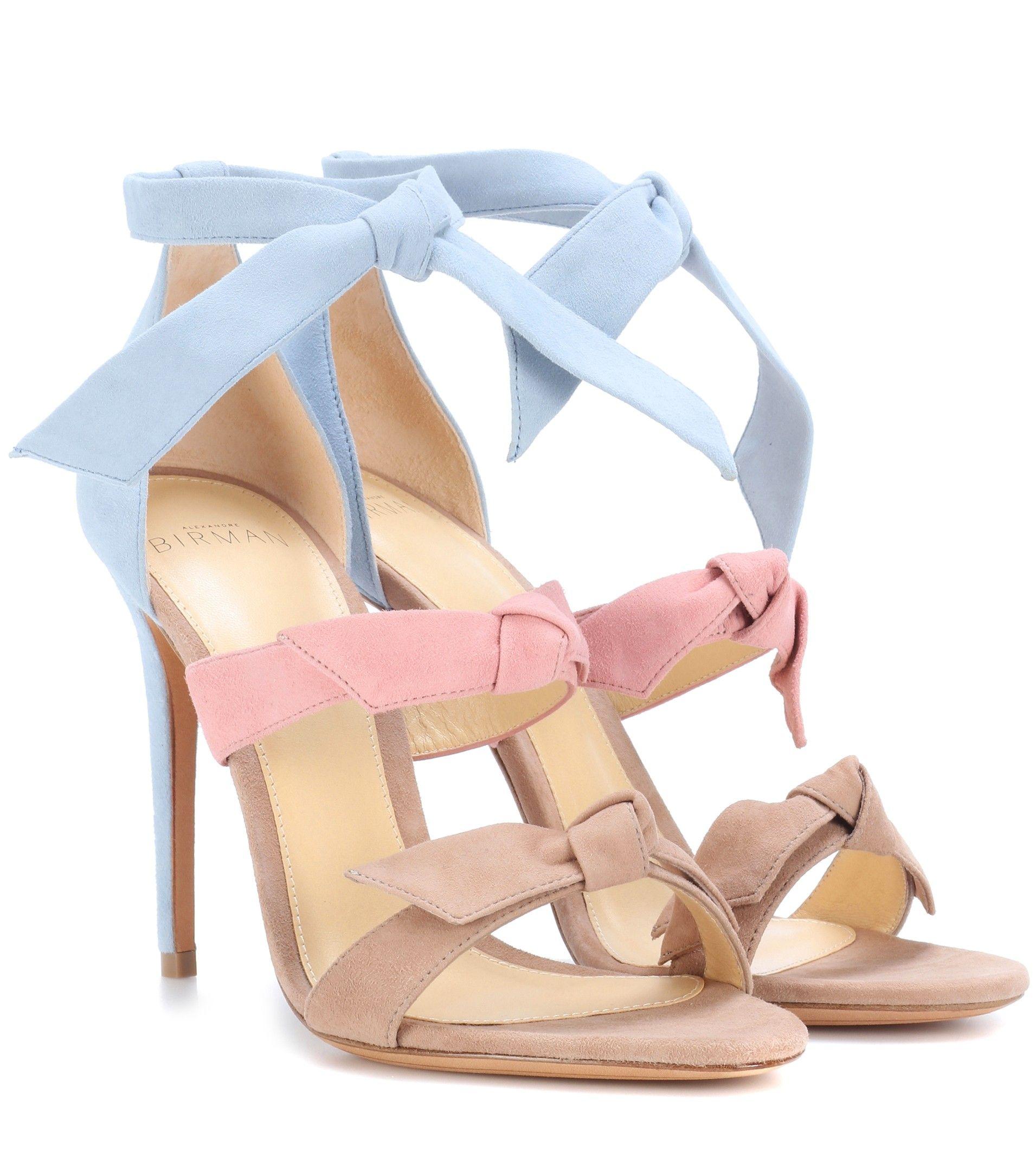 490d37c2c207 ALEXANDRE BIRMAN Lolita suede sandals