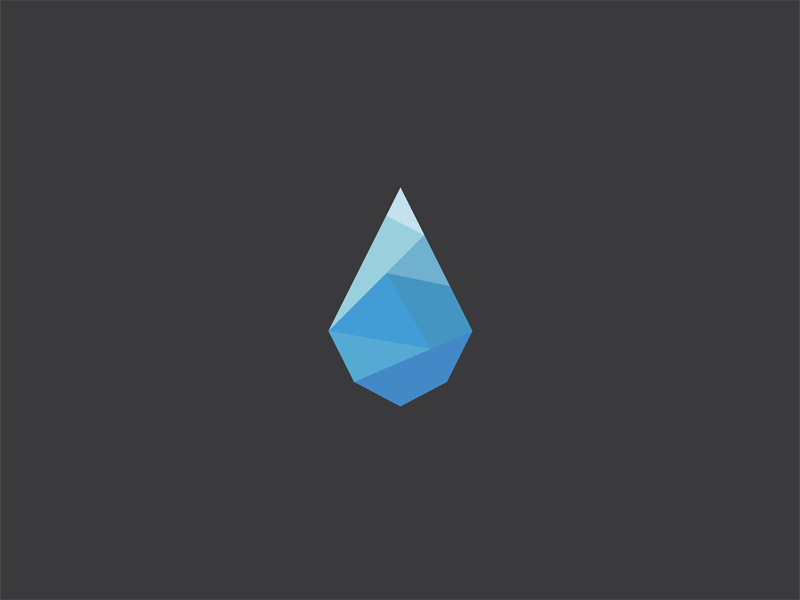 Check out Animated CSS Poly Drop by Michael Lee (@Michael