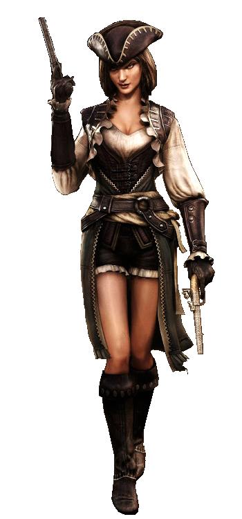 Lady Black Assassins Creed Black Flag Assassin S Creed Black Pirate Woman