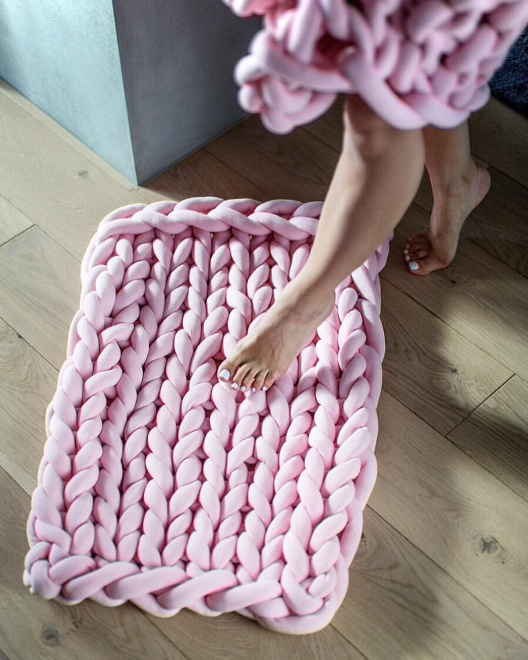 Braid Mat DIY Kit (With images) Super chunky knit