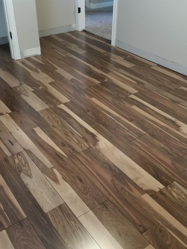 Pin On Floors, 12mm Brazilian Pecan Laminate Flooring